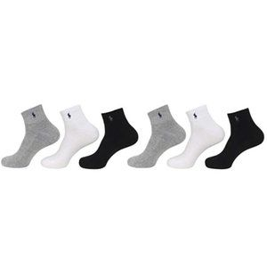 Polo Ralph Lauren Men's Classic Cotton Sport Socks